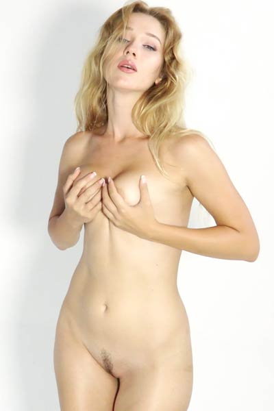 Model Genevieve in Casting Genevieve