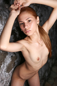 Model Mily Mendoza in Night Beauty