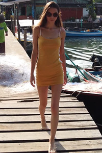 Model Leona Mia in Greeting From Thailand