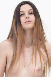 Model Dariele in Casting Dariele