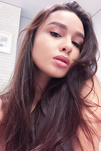 Model Astrid in Astrids Selfies